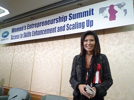 Woman Entreprenership Speaking